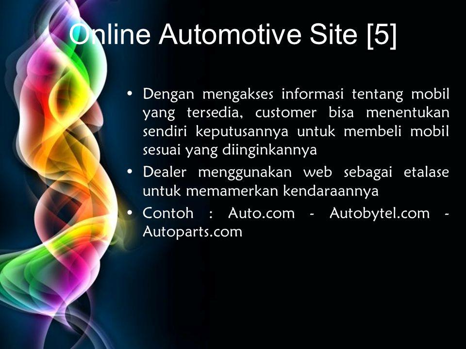 Online Automotive Site [5]